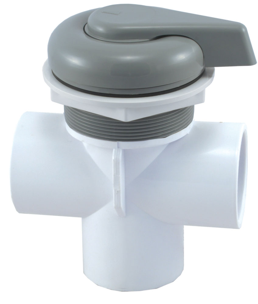 <b>Diamond - Lever Handle</b><br>Three-Way Diverter Valve