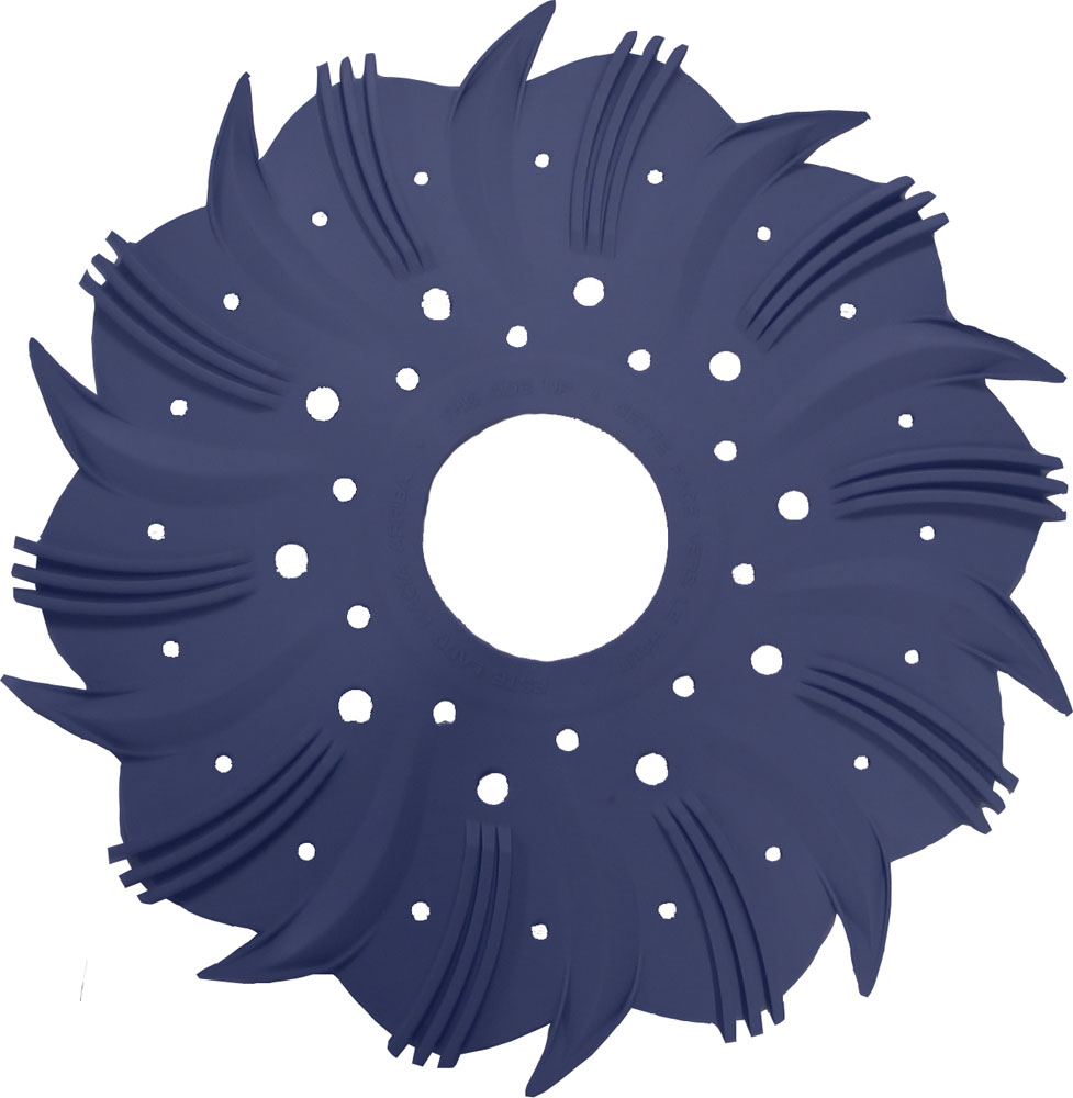 <b>Blue Finned Disc <br>for Auto Cleaner