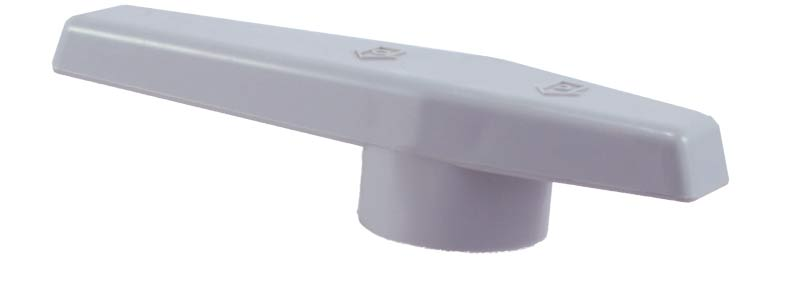 <b>Replacement <br> Ball Valve Handle</b><br>Unionized