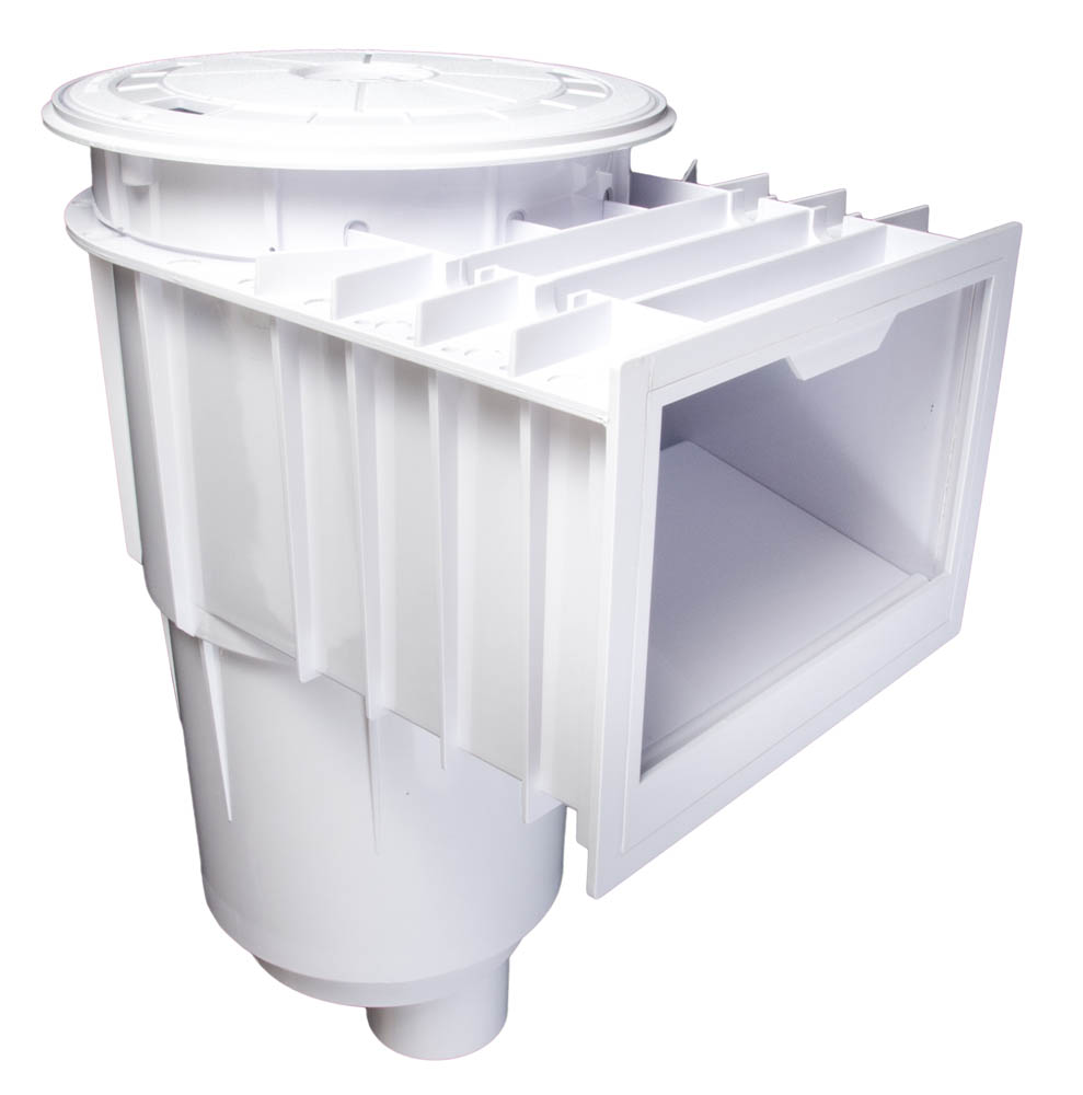 <b>ABS Unibody Skimmer<br></b> White Body/ White Cover