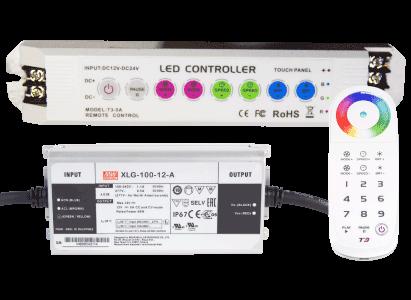 <b> Brilliant Wonders® </b> <br> LED Controls & Accessories
