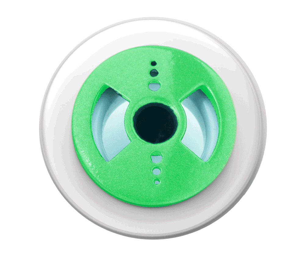 <b>Air X® Binetic Face</b><br> Pearl White Flange