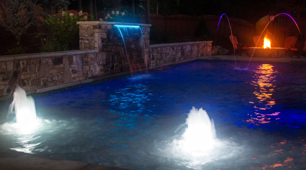 Total Led Pool Feature