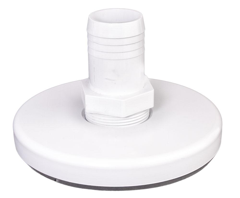 "<b> Skimmer <br> Vacuum Plate </b> <br> 1.5"" x 1.5"" RB"