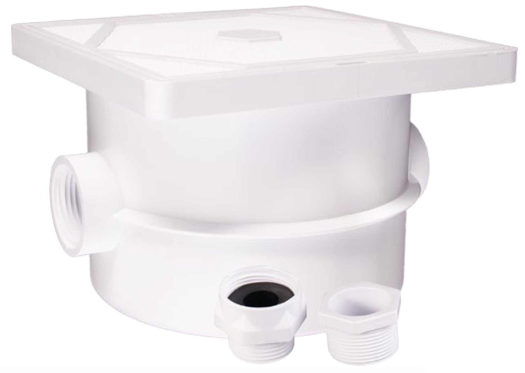 <b> Deck Mounted <br> Junction Box </b> <br> *For Canada & Int'l use only