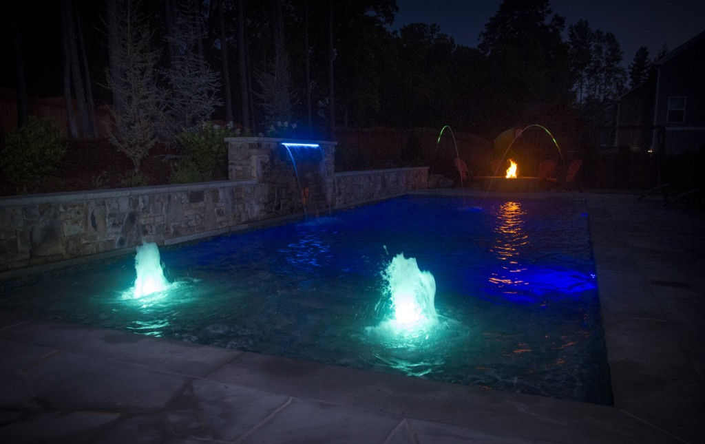 Cmp Led Bubblers And Waterfall