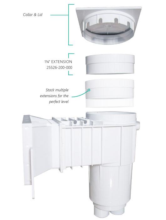 skimmer extension collar illustration