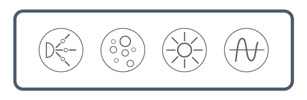 <b> NEXXUS™</b><br> Touch Series: Four Button <br> (Pump, Light, Blower, & Wave/ Pulse)