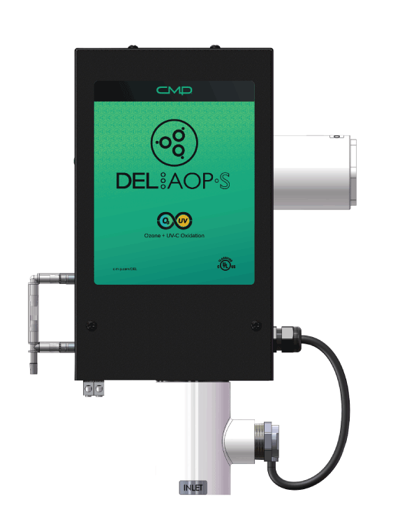 <b>DEL AOP® S</b><br>for pools up to 25,000 gallons